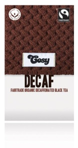 Cosy Tea fairtrade organic decaffeineated black tea