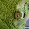 Button up your Cup Cosy Pattern Preview