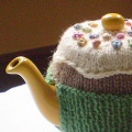 Fairy Cake Tea Cosy Pattern Preview