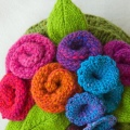 Garden Party Tea Cosy Pattern Preview