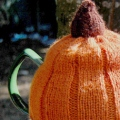 Pumpkin Tea Cosy Pattern Preview