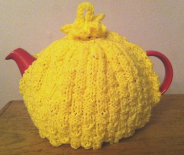 Image result for yellow tea cosy