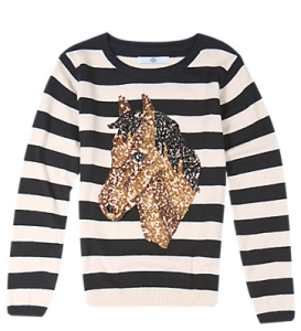 Horse jumper by Marks & Spencer